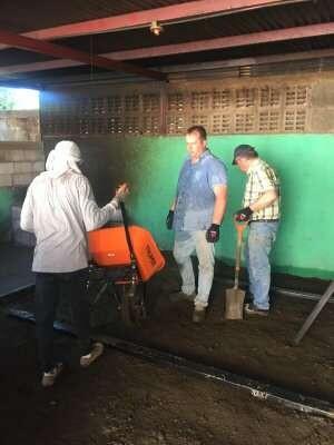 storten bij het vloersmeer team :)