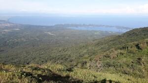 Het uitzicht vanaf de Mombacho