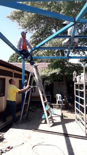 constructie werkzaamheden vorderen