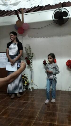 zelfs de jongste gemeenteleden bedanken ons