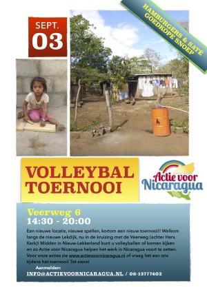 Volleybal toernooi 3 september 2016